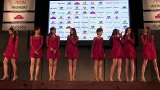 ジャパンカップ2012 モデルガールズがステージに登場
