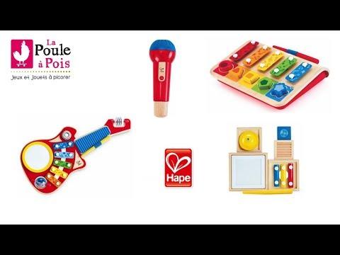 Instruments de musique pour enfants - Hape - lapouleapois.fr