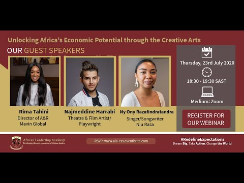 Redefine Expectations - Unlocking Africa's Economic Potential through the Creative Arts