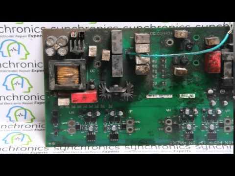 Allen Bradley - VFD Drive Power Flex 755 150KW Repaired at Synchronics