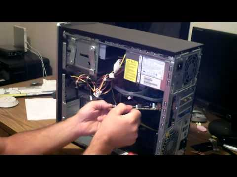 HP How to change your Video card, graphics card
