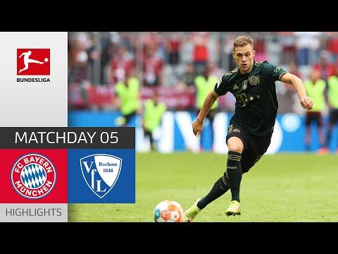 Bayern Munich Bochum Goals And Highlights