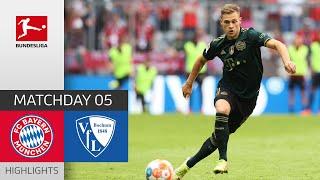 Бавария  7-0  Бохум видео