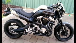 Sidekick performance slash cuts on a Yamaha MT01