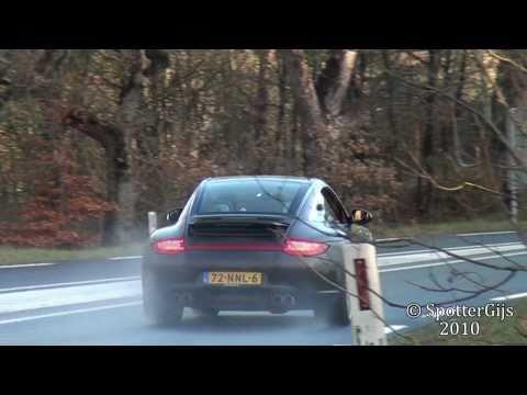 Testdrive: Porsche 997 Targa 4S MKII (sound!)