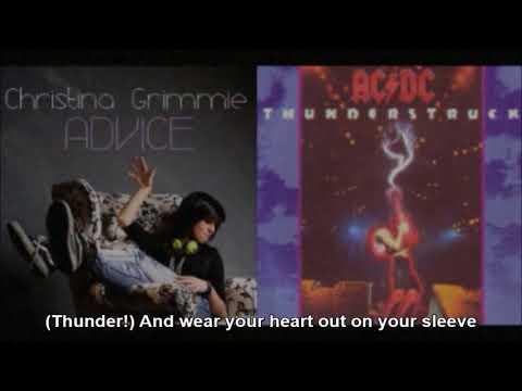 AC/DC vs. Christina Grimmie - Thunderstruck Advice (Mashup Cover ...
