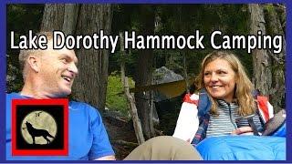 Lake Dorothy Hammock Camping - Backpacking in Washington State