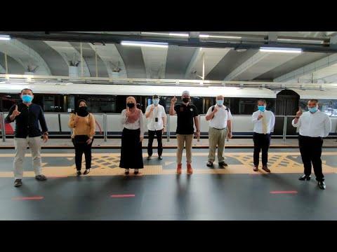 Jenama Malakat akan muncul di stesen-stesen LRT seluruh Lembah Klang