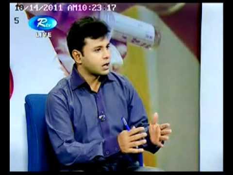 TV programme of Dr. Khurshid Alam (eye specialist)