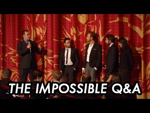 Ewan McGregor And Juan Antonio Bayona Share Real Life Stories That Inspired THE IMPOSSIBLE