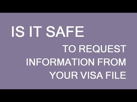 Is it safe to request information from your Canadian visa/immigration file? LP Group Mp3
