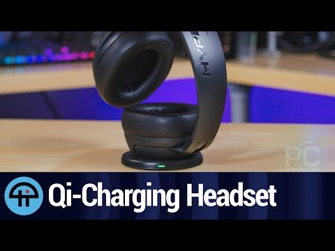 HyperX Cloud Flight S Review: Qi Charging on the Left