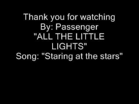 "Passenger: ""Staring at the stars"" Lyrics"