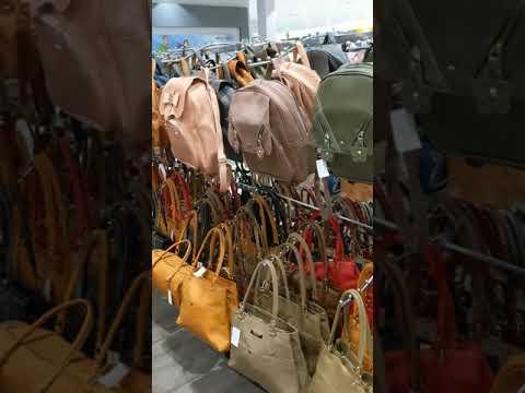 Bags,bags And More Bags At Tesco, Johor Bahru Malaysia. June 2019