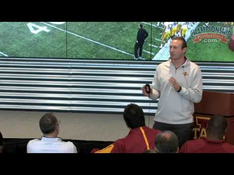 2016 Iowa State Football Coaches Clinic - Tom Manning & ISU Offense Staff