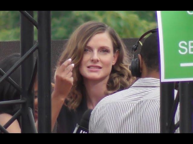 VIDEO Rebecca FERGUSON @ Paris 12 july 2018 World Premiere Mission Impossible 6 Fallout / juillet