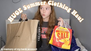 HUGE Summer Clothing Try On Haul!