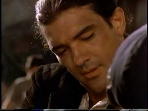 Gorgeous & Sexy Antonio Banderas Singing & Playing Guitar ...
