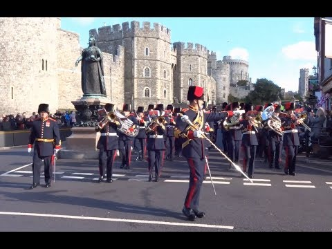 Changing the Guard at Windsor Castle - Saturday the 27th of October 2018