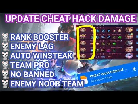 Cheat data script damage mobile legends tier