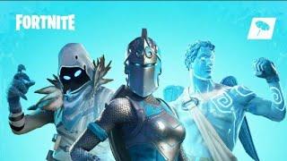 New Frost Legends Pack! Frozen Legends 3 Legendary Skins - Fortnite❄🎁🎄