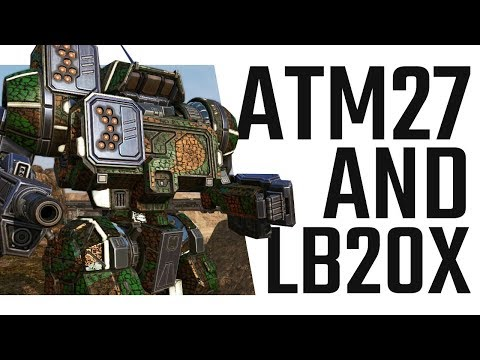 ATM 27 and LB 20-X Highlander IIC Build - Mechwarrior Online The Daily Dose #414
