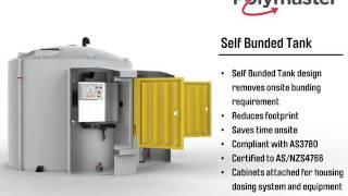 Polymaster Self Bunded Chemical Tank