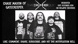 Gambar cover Chase Mason of Gatecreeper Talks Deserted, Touring Upon Touring, Upcoming Plans & More