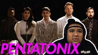 Pentatonix - Can't Help Falling In Love by Elvis Presley [MUSIC REACTION]