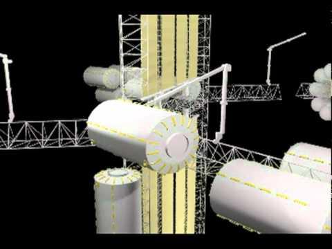 Orbital depot assembly