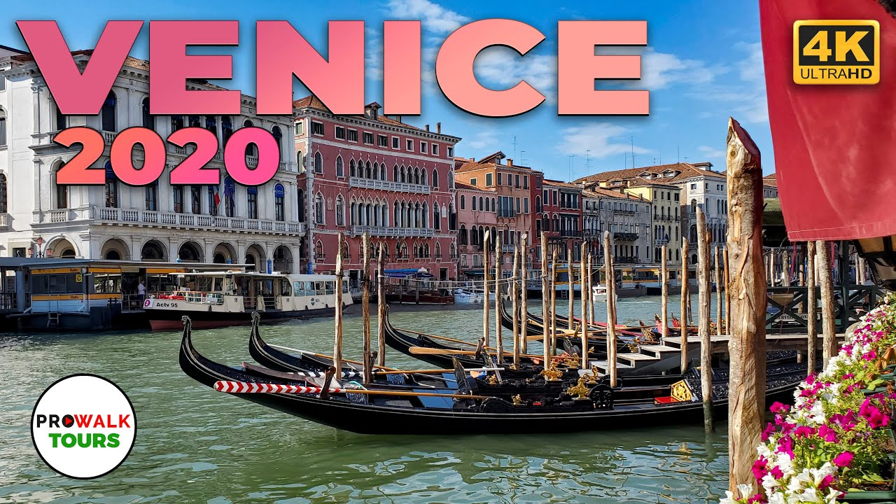 Venice, Italy 4K-UHD Walking Tour - With Captions! - Prowalk Tours