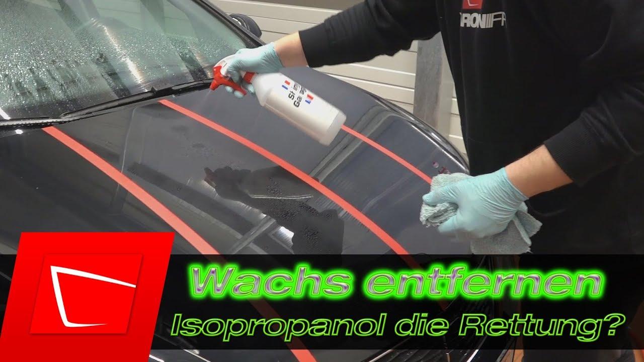 Auto vor und nach dem Abnehmen polieren