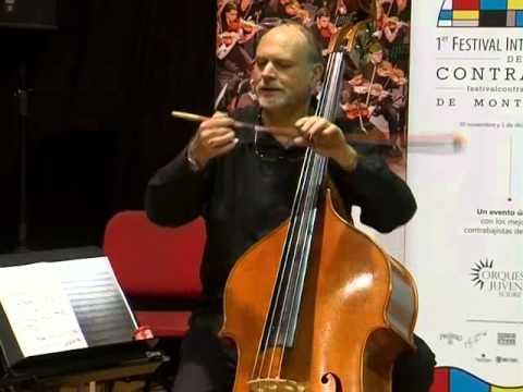 Festival Internacional de Contrabajo de Montevideo, Thierry Barbé Masterclass