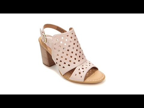 00841e18b969 Born Havana Leather Cutout Shootie Sandal - YouTube
