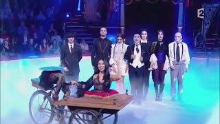 Anggun as Morticia Addams at Le Gala de l'Union des Artistes