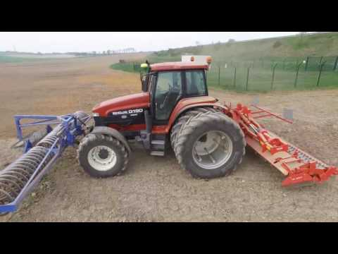 NEW HOLLAND G190 | KUHN HR 6004 | TASSE AVANT DALBO