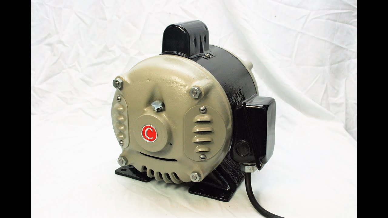 Century Electric Company 1hp Motor Restoration Circa