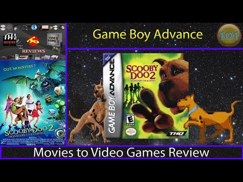 Movies to Video Games Review - Scooby Doo 2 : Monsters Unleashed (GBA)