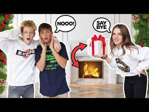 Destroying My BOYFRIENDS EXPENSIVE Christmas Gifts PRANK **Emotional Reaction** 🎁🔥| Piper Rockelle