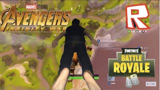 Roblox dies at the end of avengers infinity war