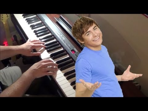 High School Musical 2 - Everyday - Piano Cover
