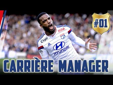 Fifa 16 | Carrière Manager #1 | Olympique Lyonnais | Début De Saison !