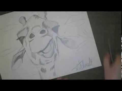 draw a giraffe youtube