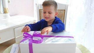 Подарок Бокс от Кидландия для Ромы! Kidlandia - Детский парк профессий в Киеве
