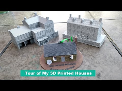 Tour Of My 3D Printed Houses