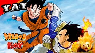 BEST FIGHTING GAME of DRAGON BALL in ROBLOX! -DRAGON BLOX