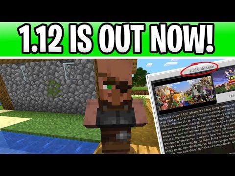 Minecraft 1 12 Is Out Now For Bedrock! OVER 100 BUG FIXES!!!