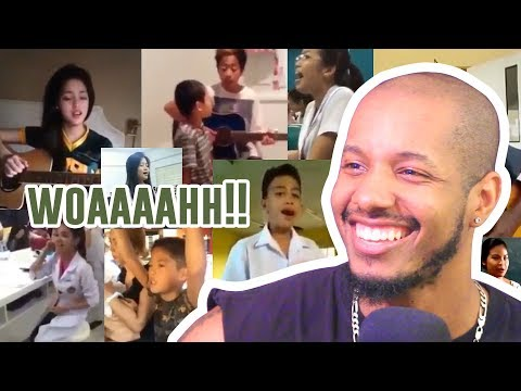 Top 10 Filipino Singers Who Went Viral On Youtube REACTION
