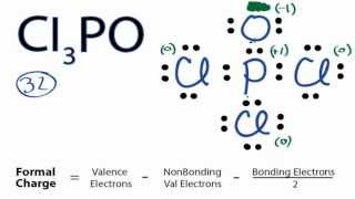 Cl3PO Lewis Structure: How to Draw the Lewis Structure for Cl3PO