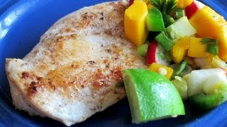 Caribbean Chicken With Mango Salsa Recipe - Quick Meal Idea